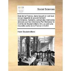 carte de la France v 8 of 8 (French Edition) (9781171415022): Henri