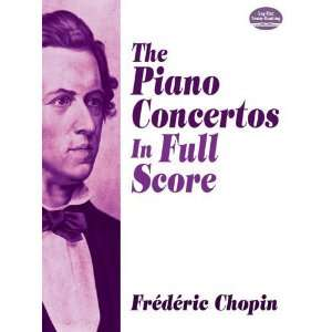in Full Score (Dover Music Scores) [Paperback]: Frederic Chopin: Books