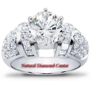 00Ct VS2 SI1 Round Brilliant Cut Diamond Engagement Ring 14k Gold