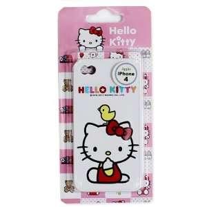HELLO KITTY iPhone 4G Case  Silicon Type Toys & Games