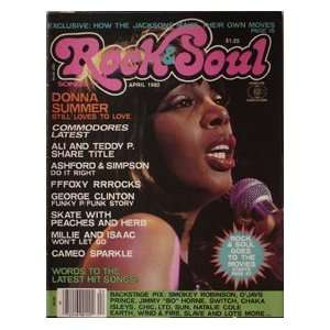 Rock & Soul Magazine Donna Summers Cover April 1980