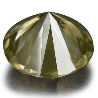 mined diamond 100 % extremly rare round cut fancy yellow diamond