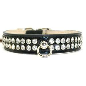 Celebrity Crystal Rhinestone Dog Collar SMALL 10 12