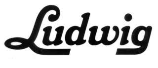 Ludwig Drums Logo   Vinyl Decal Sticker   Many Colors