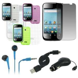 EMPIRE Huawei Ascend 2 M865 Pack of 3 Poly Skin Case Cover