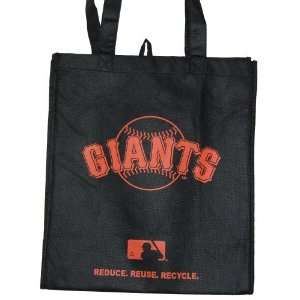 Eco Friendly Reduce Reuse Recycle MLB San Francisco Giants Tote Bag