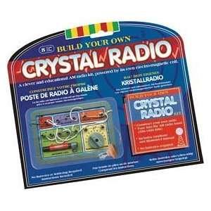 Crystal Powered Radio Kit Toys & Games