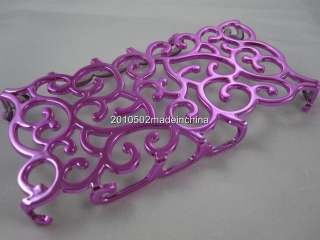 NEW Rose Electroplating Hollow Pattern PC Hard Case Back Cover for