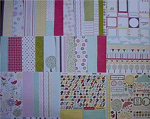 Echo Park Springtime HugeSet (30)12 x12 Papers plus Stickers