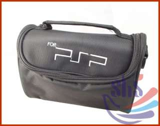 New Black Travel Carry Bag Case for PSP 1000 2000 3000
