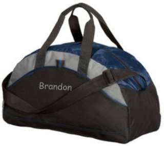 Gifts Personalized Monogrammed Duffel Bag Gym Travel Small Navy