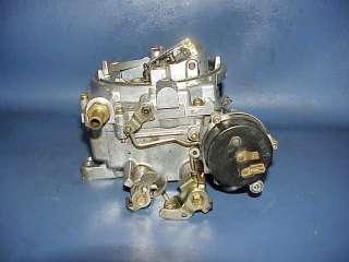 Edelbrock Carter Webber AFB 4V barrel carburetor 1406 1026 600 CFM