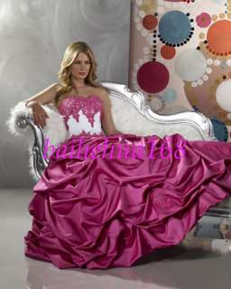 Bridal Bridesmaid Wedding Gown Prom Ball Evening Dress