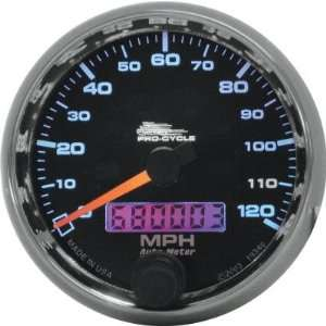 Auto Meter 2 5/8in Electronic Speedometer   Black Face