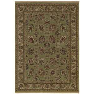 Century Collection Lenox Sage Green Traditional Floral Area Rug 9.30 x