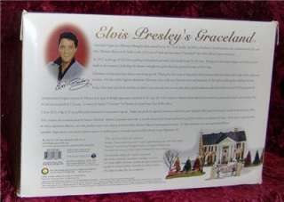 You are bidding on Dept 56 Special Edition Elvis Presleys Graceland