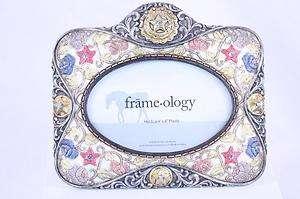 NWT Encore Frameology Diamond Brocade Rose Star Western
