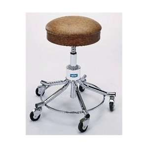 Shaft Height Adjustment Exam Stool   Lake Blue