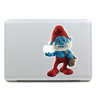 the Smurfs Macbook air pro Vinyl Sticker art Decal Skin