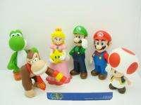 Super Mario Bros Lot 6 Pcs 5KING KONG TOAD Figure/MR71