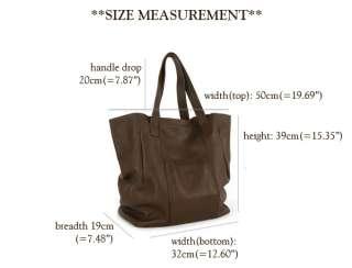 MADE IN KOREA]NWT Genuine cowhide leather DYLLIS shoulder shopper bag