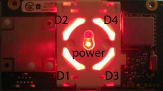 CUSTOM XBOX 360 ROL RF MODULE POWER BUTTON MOD RED WHITE BLUE YOU