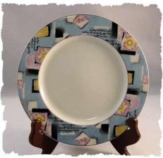 Vintage Eschenbach Living Colours Salad Plate Germany