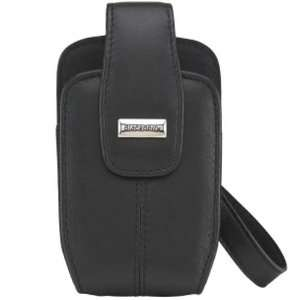 Black Swivel Tote with Removable Strap for BlackBerry Bold / Onyx 9700