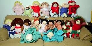 Patch Soft Sculpture~1982~Little People Pal Doll~Autographed