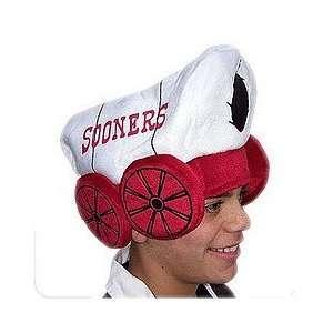 Oklahoma Sooners Plush Mascot Hat NCAA College Athletics Fan Shop