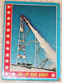 1974 TOPPS EVEL KNIEVEL CARD #52 UP UP AND AWAY