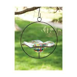 New Evergreen Enterprises Inc Speckled Hanging Glass