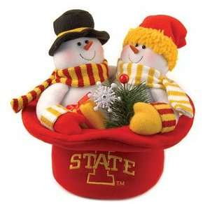 Iowa State Cyclones Snowmen Top Hat