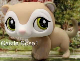 LITTLEST PET SHOP✿COLLECTOR PET✿FERRET #1573✿NEW•✿•