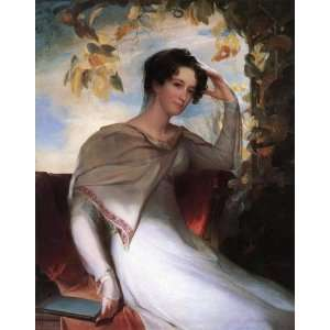 Made Oil Reproduction   Thomas Sully   32 x 40 inches   Mrs. James