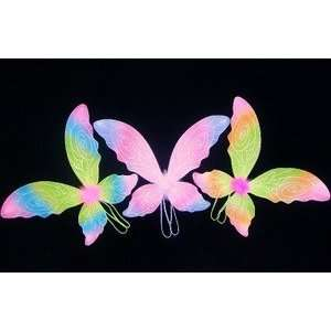 9 Rainbow Fairy Pixie Wings Party Pack: Toys & Games