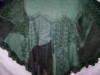 Romantic Sleeveless Renaissance Dress Emerald Green LP1002
