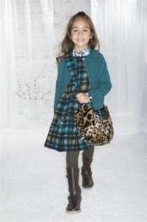 NWT Jottum Girls VIANNE Faux Fur Leopard Bag Purse PP