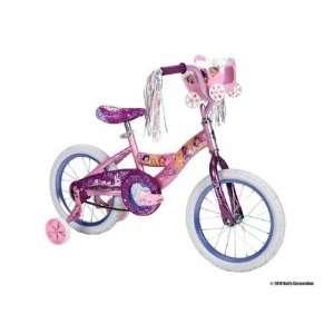 Huffy Disney Princess Bike (Shimmer Pink/Glitter Grape, Medium/16 Inch