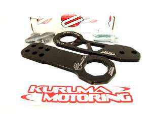 PASSWORD JDM BLACK TOW HOOKS CIVIC CRX INTEGRA RSX