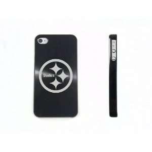 Black Apple Iphone 4 4s 4g Aluminum Back Hard Case Cover
