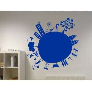 Vinyl Wall Decal Kids Planet Art Design Sticker