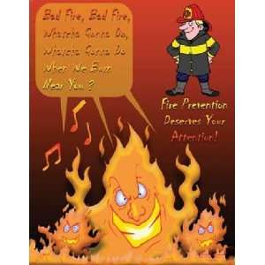 National Safety Compliance Fire Prevention Laminated Safety Poster, 18