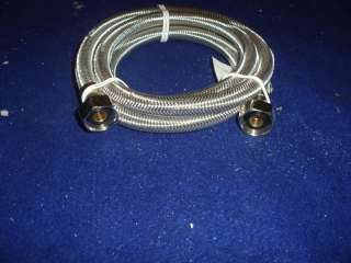 FIP X 1/2 FIPx 24 SS FAUCET SUPPLY LINE (1pc)