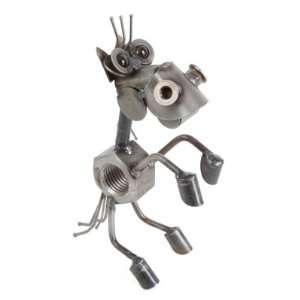Nut Horse Rearing Sculpture Yardbirds by Richard Kolb