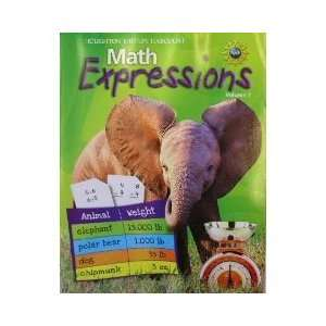 Math Expressions, Grade 3 Student Activity Book Houghton Mifflin Math