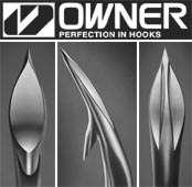 Owner Treble Hooks ST 41TN #6 Cutting Point Anti Rust