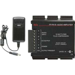 RADIO DESIGN LAB FP PA18 18W AUDIO POWER AMP: Car