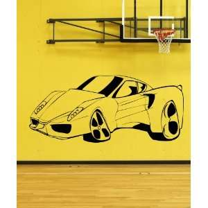 Vinyl Wall Decal Sticker Ferrari Sport Car size 108inX47in