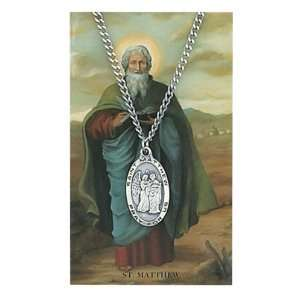 & Saint Gift Set PSD550MW St. Saint Mathew Prayer Card Set Jewelry